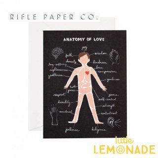 【RIFLE PAPER ライフルペーパー】ラブサイエンスメッセージカード/Love Science (GCL004)