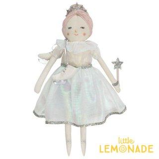 【Meri Meri】アイスプリンセス ドール 【Lucia Ice Princess Doll】人形 フィギュア スケート アイススケートとステッキの着せ替えキット付き (198153)