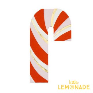 【Meri Meri クリスマス】キャンディー ケーン ペーパーナプキン 16枚入り 紙ナプキン Candy Cane Napkin 赤 メリメリ(196287)