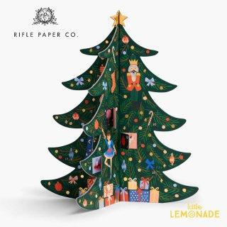 ◆SALE◆ 【RIFLE PAPER ライフルペーパー】クリスマスツリー・アドベントカレンダー(ACX002)