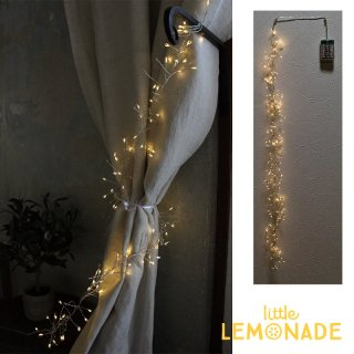 スパイラル LED ガーランド【1メートル】ワイヤーライト ジュエリーライト 照明 ライティング spice (SLLH3810)