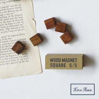 木製マグネット WOOD MAGNET 直径 1.5センチ 5ピース入り 磁石 (308796)