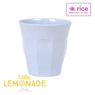 【RICE】メラミンカップ/ライトブルー ミディアムサイズ 9cm (MELCU-B)