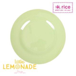 【RICE】メラミンサイドプレート/ライトグリーン 直径20cm (MESPL-MI)