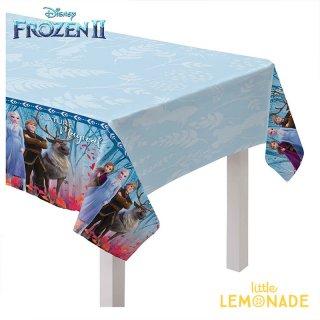 テーブルカバー アナと雪の女王 アナ エルサ フローズン FROZEN 【amscan】プラスチック製 テーブルクロス(572087)