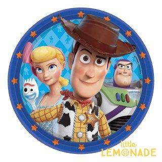 トイストーリー4  ペーパープレート 【amscan】Toy Story 紙皿  誕生日 飾り バースデイ  (PG552367 )