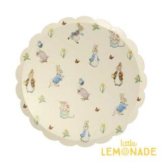 【Meri Meri】  ピーターラビット ペーパープレート 紙皿 Peter Rabbit & Friends Side Plate イースター メリメリ(202968)