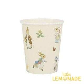 【Meri Meri】 ピーターラビット ペーパーカップ 紙コップ Peter Rabbit & Friends Cups イースター  メリメリ(202989)