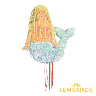 【Meri Meri】大きなマーメイドのピニャータ 高さ45cm 組み立て式 DIY パーティー 飾り 誕生日 人魚(45-3205)