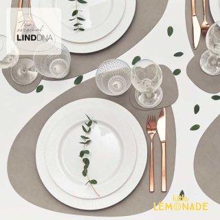 【LIND DNA】カーブ マット/NUPO 37x44cm 【ライトブルー・ライトグレイ・オリーブグリーン・サンド】 リンドDNA プレイスマット ランチョンマット