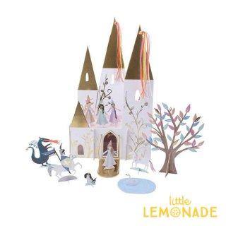 【Meri Meri】マジカルプリンセス キャッスルセンターピース Magical Princess Centerpiece お城とプロップスセット  (188314)