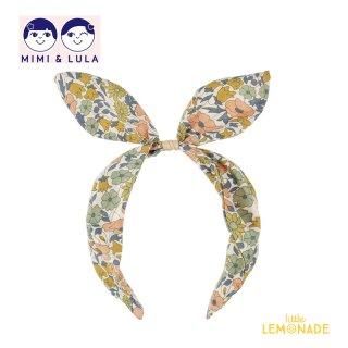 【Mimi&Lula ミミアンドルーラ】FARMGIRL ALICE BAND / 花柄カチューシャ型ヘアバンド ヘアアクセサリー 女の子(ML50201762)