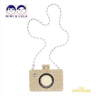 【Mimi&Lula ミミアンドルーラ】STRAW CAMERA BAG/ストローカメラ風ポシェット(ML50300961)