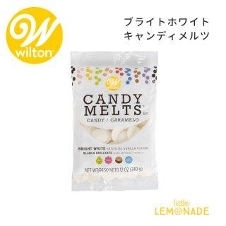 【Wilton】 ブライトホワイト キャンディメルツ(03-3093) はっきりとした真っ白 テンパリング不要 ウィルトン