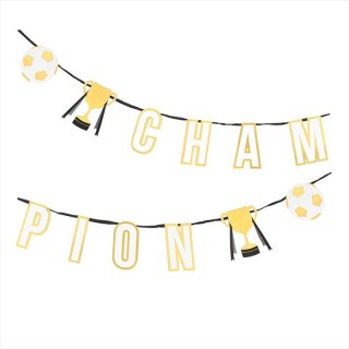 【Talking Tables】チャンピオンカップモチーフ ガーランド Party Champions Garland(CHAMP-GARLAND) トーキングテーブルス