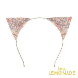 【Meri Meri】フローラル ネコ耳のカチューシャ 花柄 ヘアバンド Floral Cat Ear Headband ヘアアクセサリー リバティ(205516)