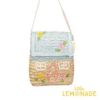 【Meri Meri メリメリ】コテージ ストローバッグ Cottage Straw Bag ポーチ 子供用カバン バッグ ギフト リトルレモネード (203195)