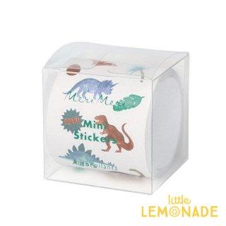 【Meri Meri】ミニダイナソーキングダムステッカー Mini Dinosaur Kingdom Stickers 恐竜 ラッピング ギフト シール メリメリ リトルレモネード(202905)
