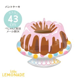 <img class='new_mark_img1' src='https://img.shop-pro.jp/img/new/icons1.gif' style='border:none;display:inline;margin:0px;padding:0px;width:auto;' />【ガスなし】バントケーキのアルミバルーン ぺしゃんこでお届け ケーキ 誕生日 バルーン 風船 balloon