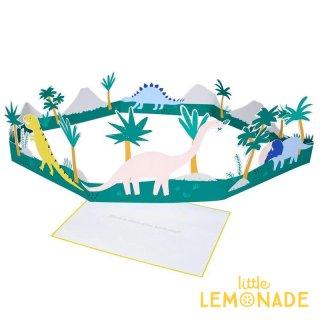【MeriMeri メリメリ】3D 恐竜のメッセージカード Dinosaur 3D Card 飾れる 恐竜 ダイナソー 【カード 手紙 誕生日】リトルレモネード(176248/174844)