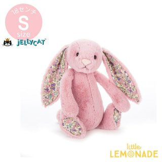 【Jellycat】 Blossom Tulip Bunny Sサイズ ピンク×耳 花柄 バニー うさぎ ぬいぐるみ ジェリーキャット (BLSN6BTP) 【正規品】