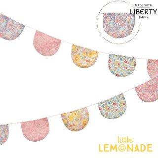 【Meri Meri】リバティプリント ファブリックガーランド Floral Scallop Fabric Garland  バナー (205021)