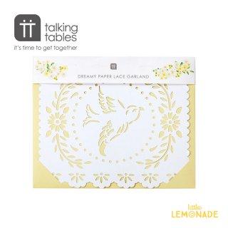 Boho ブライド バンティング【Talking Tables】 Boho Bride Bunting(BOHOBR-BUNTINGWHT) トーキングテーブルス
