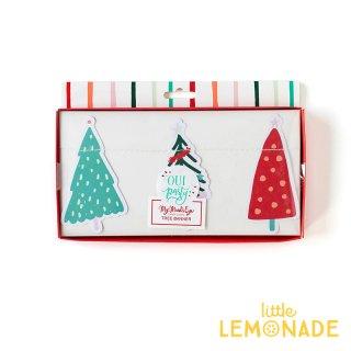 【my mind's eye】 カラフルツリーのガーランド Fa La La Christmas Tree Banner バナー クリスマス 飾りつけ(OPC803)
