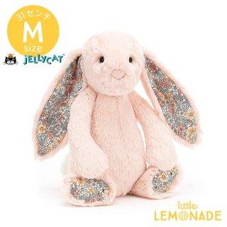 【Jellycat ジェリーキャット】 Blossom Blush Bunny Mサイズ 花柄xブラッシュ うさぎ バニー ぬいぐるみ  (BL3BLU) 【正規品】