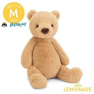 【jellycat】 Puffles Bear Mサイズ ベア ぬいぐるみ くま ベージュ ブラウン  PUF2B 【正規品】