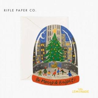 【RIFLE PAPER】 クリスマス カード /スケートクリスマス Skating in the City ライフルペーパー  (GCX061)