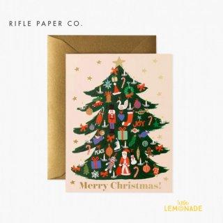 【RIFLE PAPER ライフルペーパー】 クリスマス カード /デコレーションツリー Trimmed Tree (GCX064)
