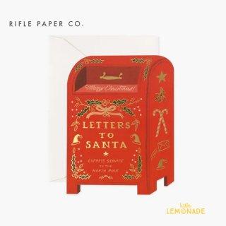 【RIFLE PAPER ライフルペーパー】 クリスマス カード /サンタポスト/Letters to Santa (GCX056)