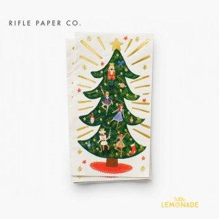 【RIFLE PAPER】 クリスマスドール・ペーパーナプキン 20枚セット Holiday Guest Napkins ライフルペーパー  (PXH001)
