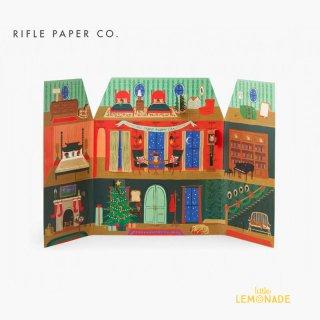 【RIFLE PAPER ライフルペーパー】 クリスマスハウス・アドベントカレンダー Advent calendar (ACX003)