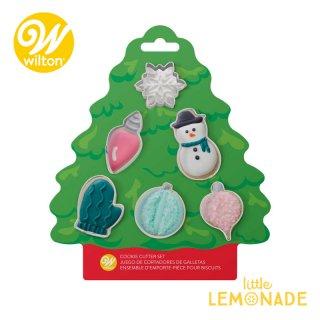 【Wilton】クリスマスクッキーカッター6個セット クリスマス クッキー型 Tree Mini Set(2308-0-0225)