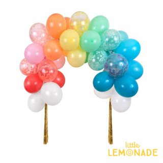 【MeriMeri】レインボーバルーンアーチキット Rainbow Balloon Arch Kit (203456)