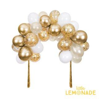 【MeriMeri】ゴールドバルーンアーチキット Gold Balloon Arch Kit (205030)