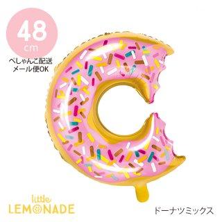 【Party Deco】 ドーナツ型フィルムバルーン  【ぺしゃんこでお届け】 (FB34)
