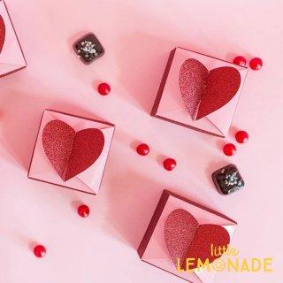 【my mind's eye】 バレンタインハート フェイバーボックス10箱入り (VAL537)