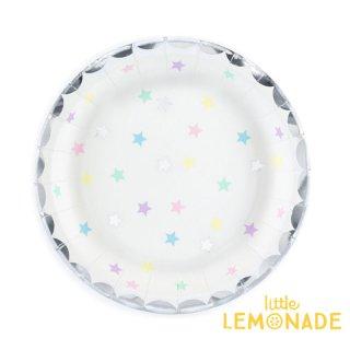【Party Deco】 ユニコーンスターズ ペーパープレート6枚セット 紙皿 バースデー 誕生日(TPP14)