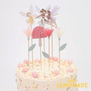 【Meri Meri】 Fairy Cake Topper フェアリー ケーキトッパー 妖精   (215281)
