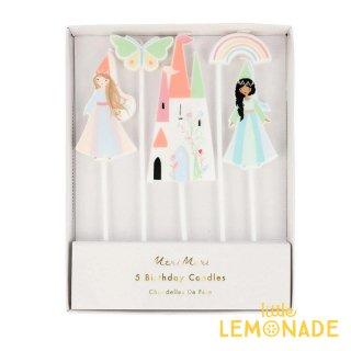 【Meri Meri】 Princess Candles プリンセス キャンドル 誕生日 飾り ろうそく   (215875)