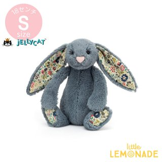 <img class='new_mark_img1' src='https://img.shop-pro.jp/img/new/icons1.gif' style='border:none;display:inline;margin:0px;padding:0px;width:auto;' />【Jellycat】 Blossom Dusky Blue Bunny Sサイズ 花柄×ダスティーブルー うさぎ バニー ぬいぐるみ ジェリーキャット (BL6DUSK) 【正規品】