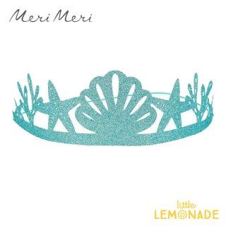 【Meri Meri】 マーメイドパーティー ペーパークラウン 8個入り 人魚 パーティー 誕生日 バースデイ Mermaid Party Crowns (215938)