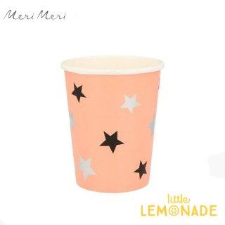 <img class='new_mark_img1' src='https://img.shop-pro.jp/img/new/icons1.gif' style='border:none;display:inline;margin:0px;padding:0px;width:auto;' />【Meri Meri】 ハロウィン ペーパーカップ Pastel Halloween Star Pattern Cups ハロウィーン パーティー 紙カップ コップ  (216793)