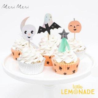 <img class='new_mark_img1' src='https://img.shop-pro.jp/img/new/icons1.gif' style='border:none;display:inline;margin:0px;padding:0px;width:auto;' />【Meri Meri】 ハロウィン ピック&ケース カップケーキキット Pastel Halloween Cupcake Kit ハロウィーン 製菓 (217207)