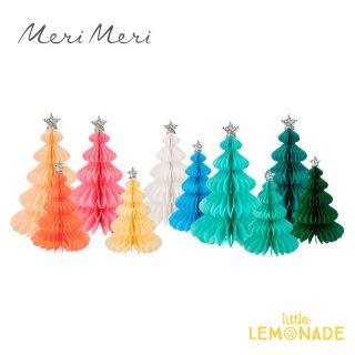 <img class='new_mark_img1' src='https://img.shop-pro.jp/img/new/icons1.gif' style='border:none;display:inline;margin:0px;padding:0px;width:auto;' />【Meri Meri】 クリスマス飾り ハニカム素材のレインボーフォレスト10個 クリスマスツリー Rainbow Forest Honeycomb Decorations (210502)