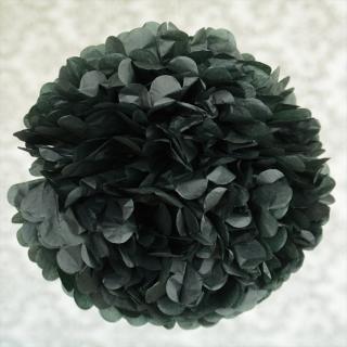 ビッグフラワーポム 35cm ブラック 【メール便発送可】