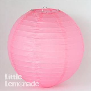 ペーパーランタン ボール ピンク 30cm 【ウェディング・パーティー用デコレーション】